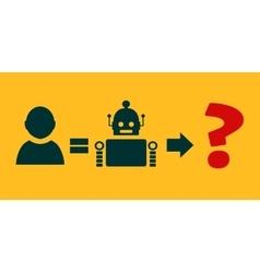 Human to robot evolution vector