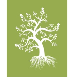 money tree design vector image vector image