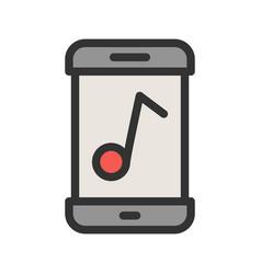 Music app vector
