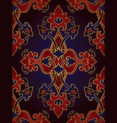 Oriental rich ornament vector