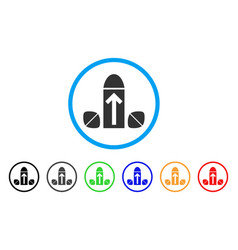penis enlargement tablets rounded icon vector image