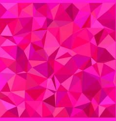 pink triangle tiled mosaic background vector image