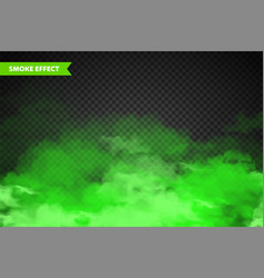 realistic colorful smoke clouds mist effect fog vector image