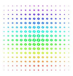 refresh shape halftone spectrum pattern vector image