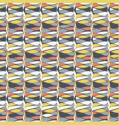 rows of lime white tan and grey vector image