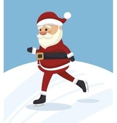 Santa claus isolated icon design vector