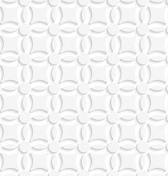Simple geometrical white seamless vector