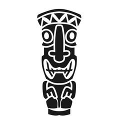 Tahiti culture idol icon simple style vector