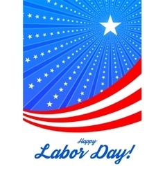 Happy labor day vector image