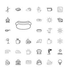 33 hot icons vector