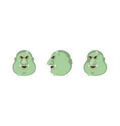 head troll vector image