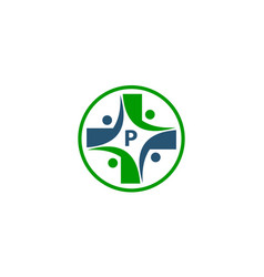 Medical group initial p vector