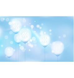 new years christmas chaotic blur bokeh of light vector image
