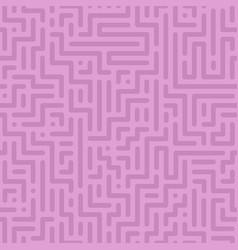 seamless geometric pattern - color design vector image