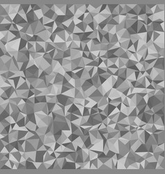 Grey irregular triangle tile mosaic background vector