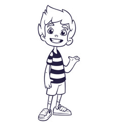 kid40 vector image