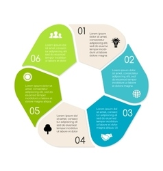 Linear circle eco infographic Ecology vector