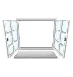 Open windows vector