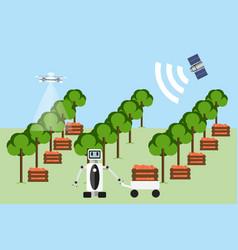 Smart farm vector