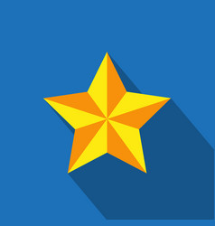 star icon simple flat vector image