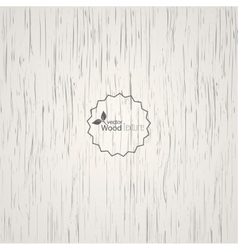 White wood background vector image