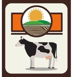 farm animal design vector image vector image