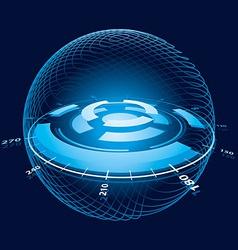 space navigation vector image