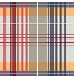 Spring Plaid Pattern vector image