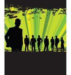 business people grunge background vector image vector image