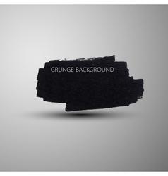 Grunge marker stain banner brushed ink texture vector image vector image