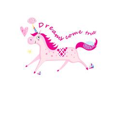 a unicorn vector image