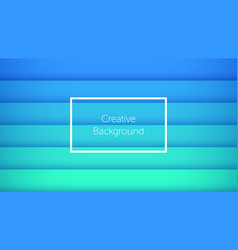 Geometric background with horizontal stripes vector