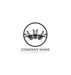 lab logo icon template icons vector image