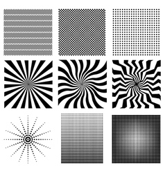 Nine very needed pattern vector