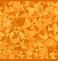 Orange triangle tiled background vector