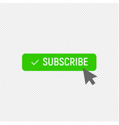 Subscribe symbol ideal for video streaming vector