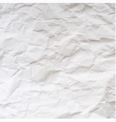 Texture crumpled paper vector