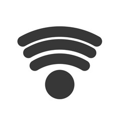 Wifi internet symbol vector