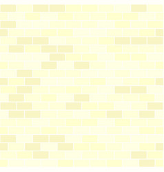 Yellow brick wall pattern seamless background vector