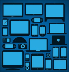 Mobile Devices vector image vector image