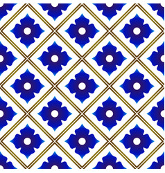 ceramic pattern design vector image