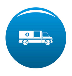 first aid icon blue vector image