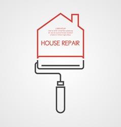 Home Repair Infographics Banner vector