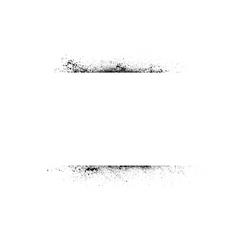 Ink blots stroke vector image