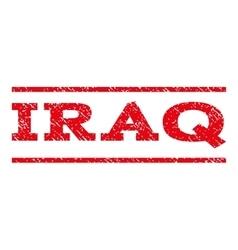 Iraq Watermark Stamp vector