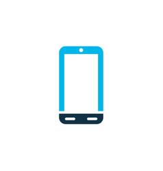 phone icon colored symbol premium quality vector image