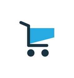 shopping colorful icon symbol premium quality vector image
