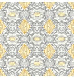 vintage pattern fifties sixties wallpaper design vector image