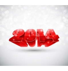New 2014 year vector image
