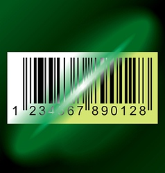 barcode label vector image
